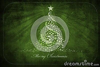 Christmas grunge greetings card