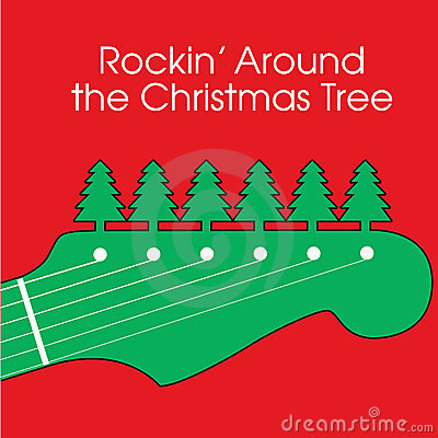 Christmas Guitar Background