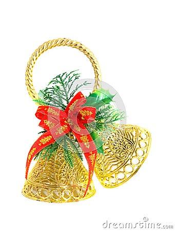 Christmas handbell.