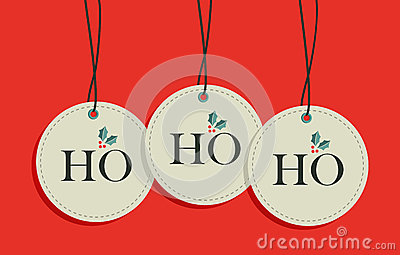 Christmas hang tags sale set