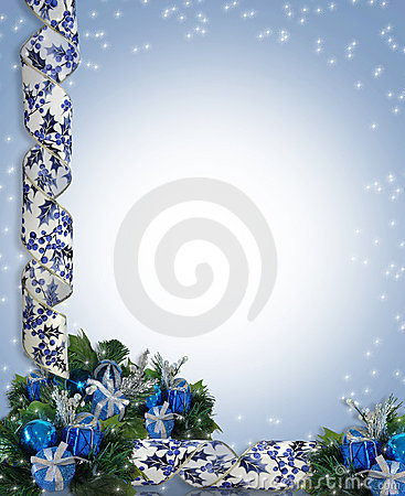 Christmas or Hanukkah Border