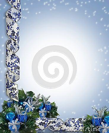 Christmas or Hanukkah Border
