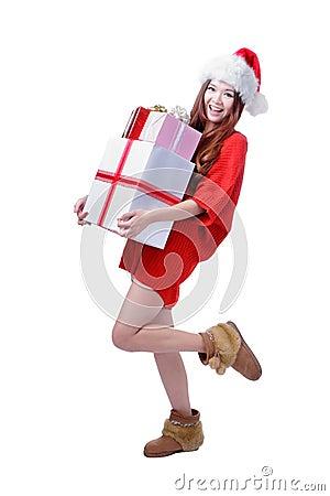 Christmas happy Girl Smile