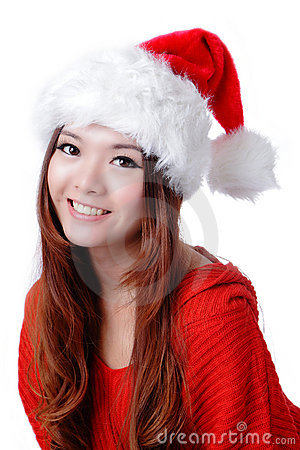 Christmas Happy Girl smile face