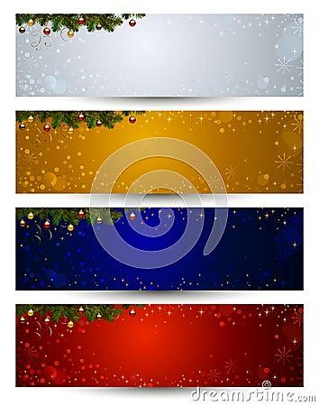 Free Christmas Header Royalty Free Stock Photos - 22962958