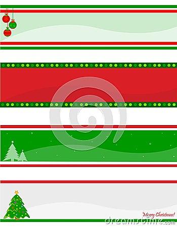 Christmas header / banner