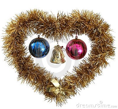 Free Christmas Heart Stock Images - 3769654