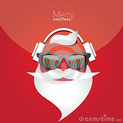 Free Christmas Hipster Poster For Party Or Card. Stock Photos - 35177533