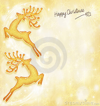 Christmas holiday card,background, reindeer