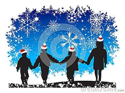 Christmas holiday, children