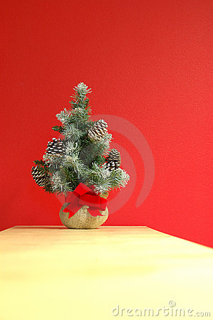Christmas holiday decoration (vertical) Stock Photo