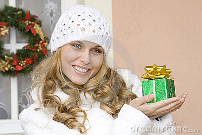 Christmas holiday gift, present