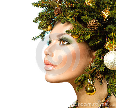 Christmas Holiday Hairstyle