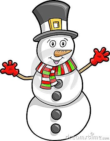 Christmas Holiday Snowman