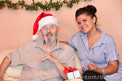 Christmas holidays elderly gift