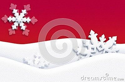 CHRISTMAS Holidays Postcard RED
