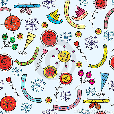 Christmas holidays seamless pattern