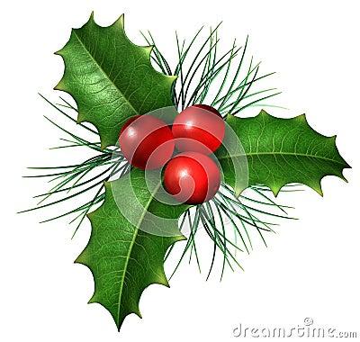Free Christmas Holly Royalty Free Stock Photos - 26434168