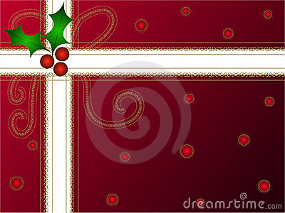 Christmas holly gift pack