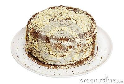 Christmas homemade  cake