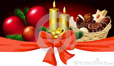 Christmas horizontal design