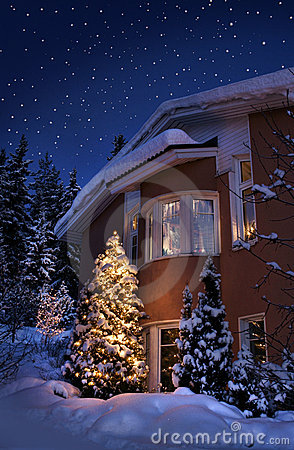 Free Christmas House Stock Photo - 14947080