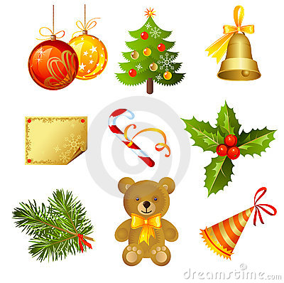 Free Christmas Icon Royalty Free Stock Photo - 16427255
