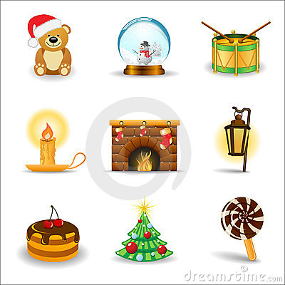 Christmas icons, part 3