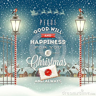 Free Christmas Illustration Stock Image - 45044781
