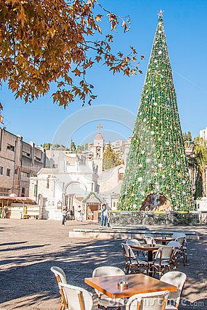 Free Christmas In Nazareth Royalty Free Stock Image - 37637046