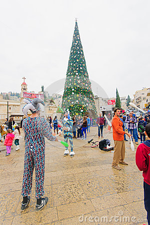 Free Christmas In Nazareth Stock Images - 48196774