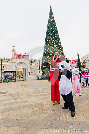 Free Christmas In Nazareth Royalty Free Stock Photo - 48196835