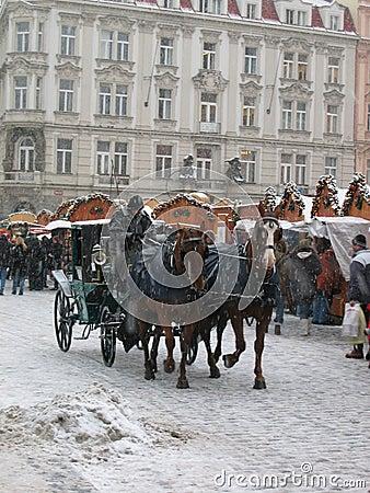 Free Christmas In Prague Royalty Free Stock Photos - 1101358