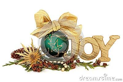 Christmas Joy Decoration