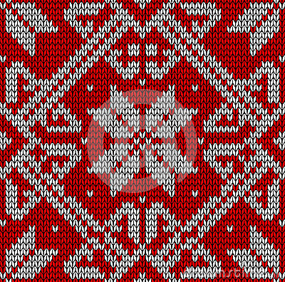 Christmas knittng pattern