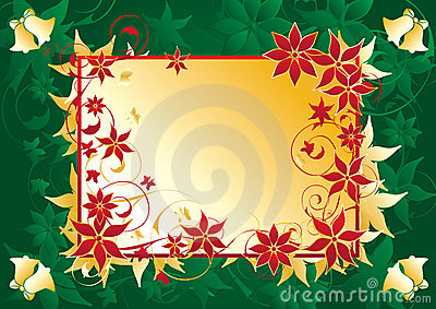 Christmas label background