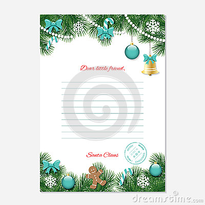 Christmas Letter Template Photo Image 7202780 – Christmas Letter Format