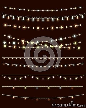 Free Christmas Lights Royalty Free Stock Image - 47093786