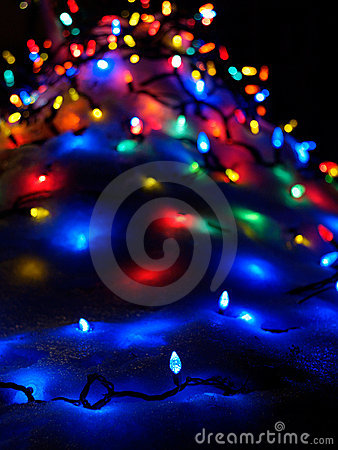 Free Christmas Lights Royalty Free Stock Images - 5729899