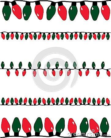 Christmas Lights Stock Photography Image 7486042