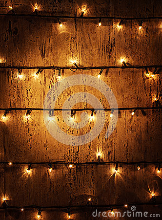 Free Christmas Lights Background Royalty Free Stock Images - 27986869