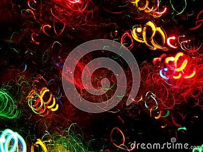 Christmas Lights Blur 4
