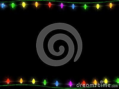 All Green Christmas Lights