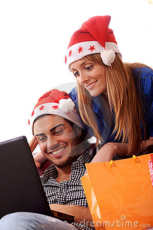 Christmas on-line shopping