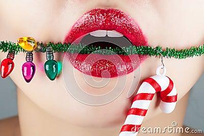 Christmas Lip
