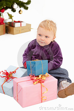 Christmas - Look at all my presents