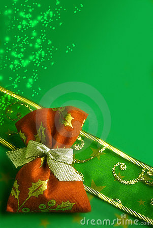 Free Christmas Magic Gift Royalty Free Stock Photos - 16409688