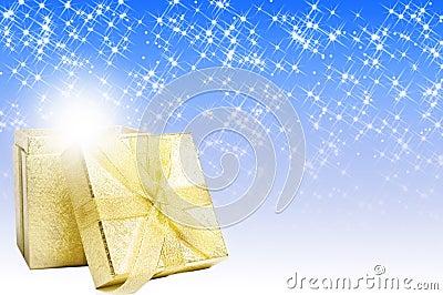 Christmas magic gift