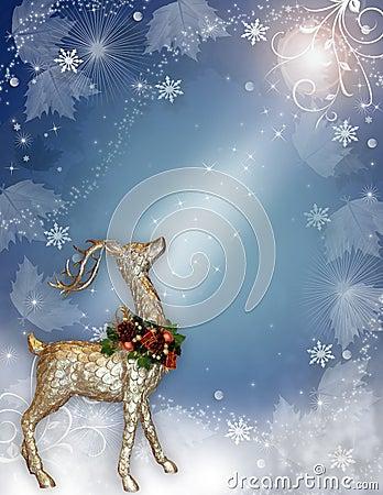 Christmas Magic Reindeer