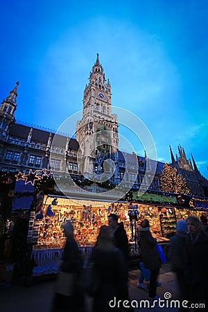 Christmas market Editorial Stock Photo